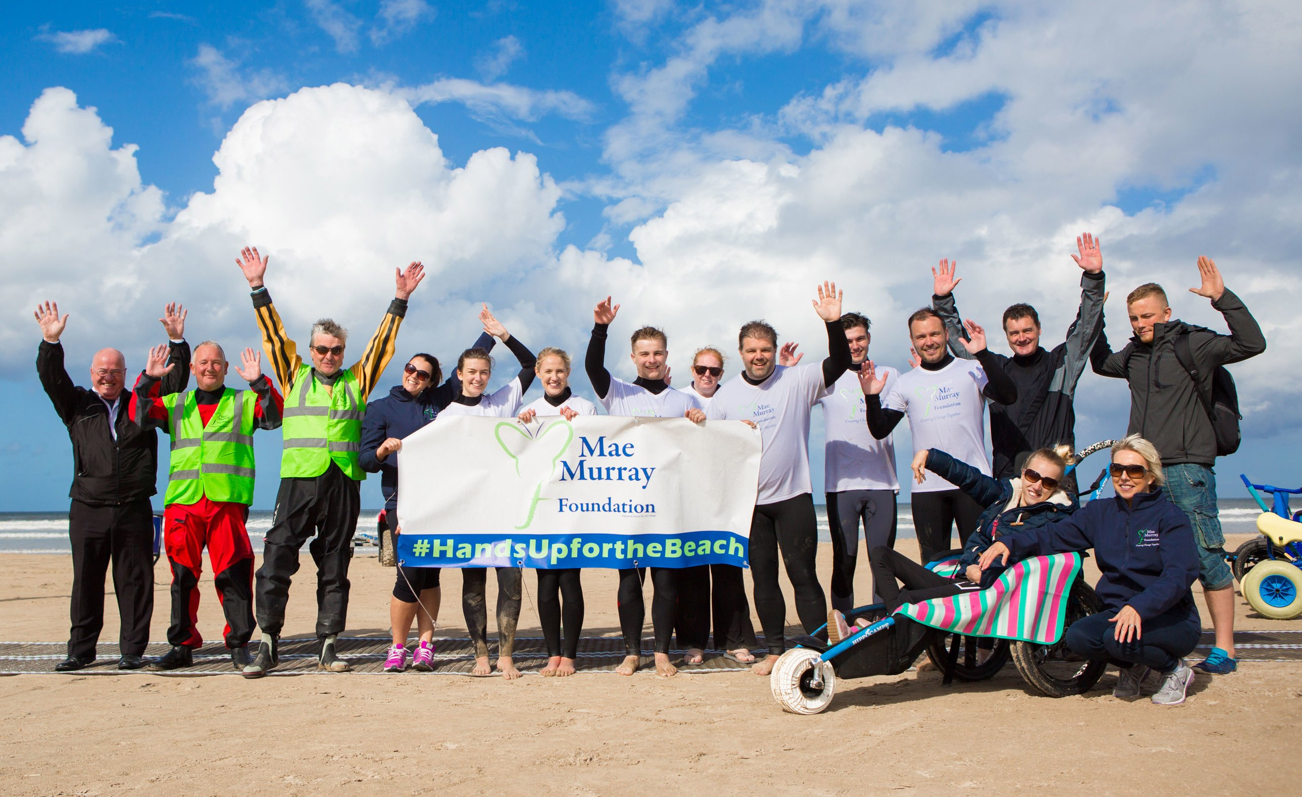 Mae Murray Foundation introduces Benone as Northern Ireland's First Fully Inclusive Beach