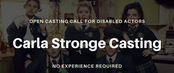 Carla Stronge Casting on the lookout for disabled actors