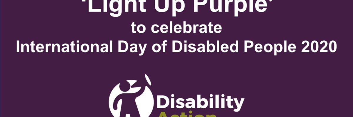 Thank you for helping us celebrate IDPWD 2020