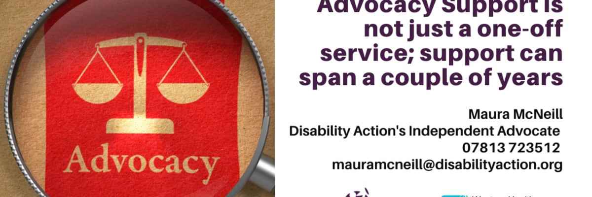 Advocacy Support is not just a one-off service
