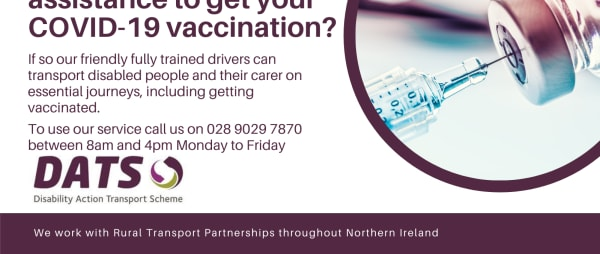 Need transport assistance to get your COVID-19 vaccination?
