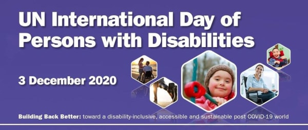 Celebrating the United Nations International Day of Persons with Disabilities
