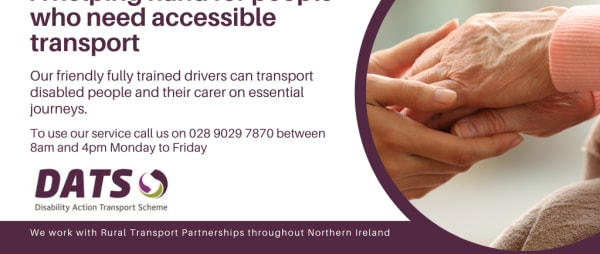 A helping hand for people who need accessible transport
