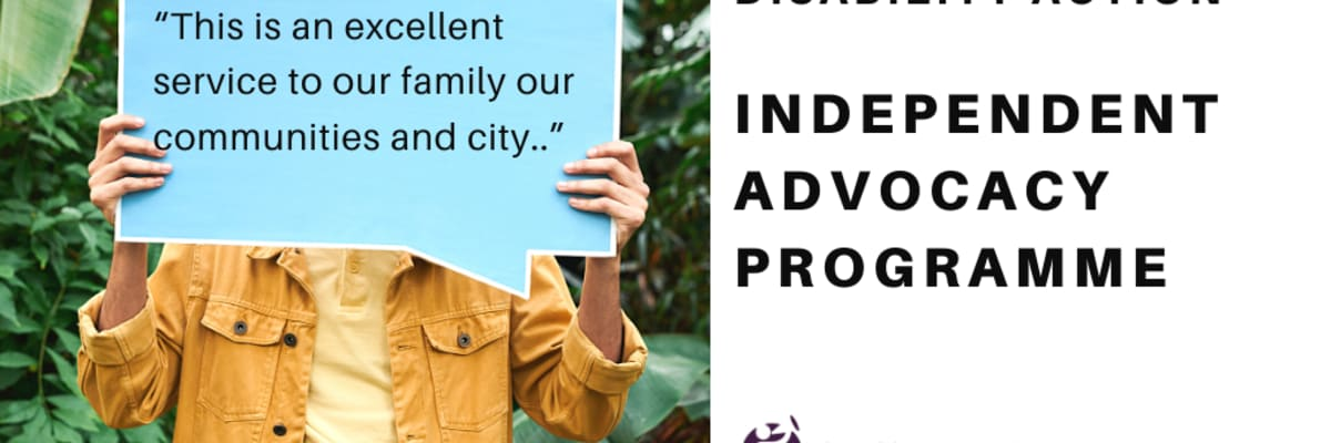 Disability Action's Independent Advocacy Programme