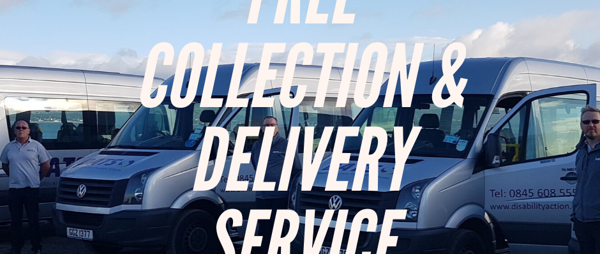 DATS is offering a FREE Collection & Delivery service