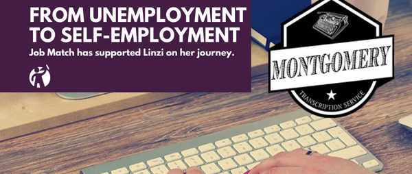 Linzi's journey from unemployment to self-employment