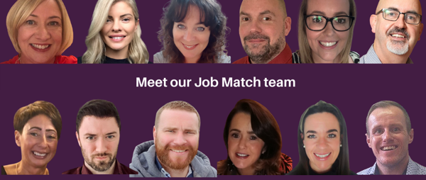 Meet our Job Match Team delivering recruitment support to disabled people