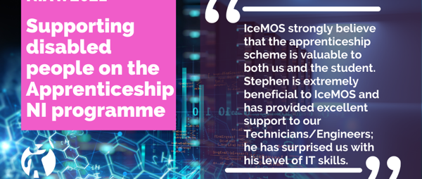 Meet Stephen: Apprentice Technician at IceMOS