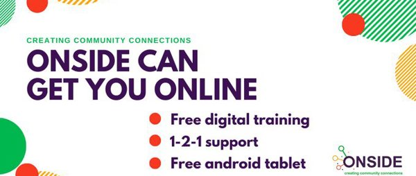 ONSIDE can help disabled people get online