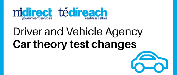DVA Car theory test changes - effective from 28 September