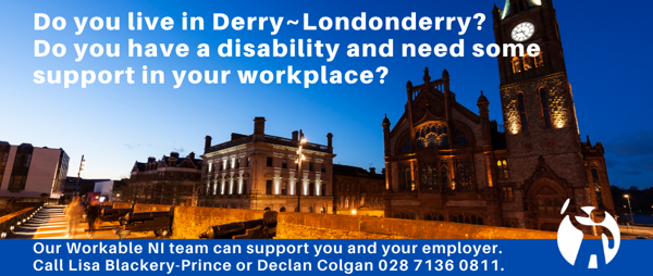 Do you live in the Derry~Londonderry area?