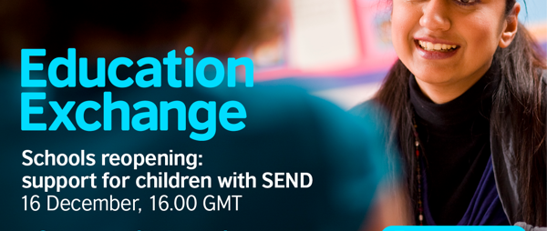 Schools reopening: support for children with SEND