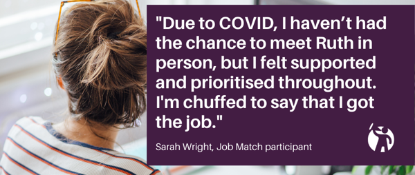 Job Match continues to help disabled people during COVID-19