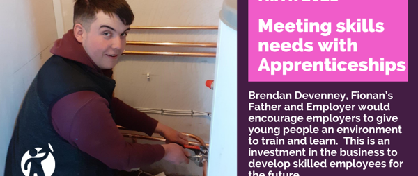 Meet Fionan: Apprentice with Brendan Devenney, Plumbing & Boiler Services