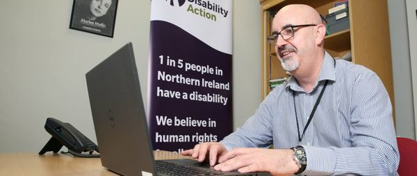 ECNI Case Study: Colin McElroy, Job Match Support Officer - Disability Action