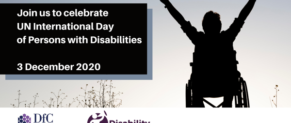 Join us to celebrate UN International Day of Persons with Disabilities