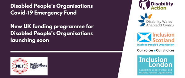 Disabled People's Organisations Covid-19 Emergency Fund