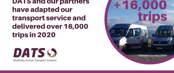 Over 16,000 trips delivered throughout N.Ireland in 2020