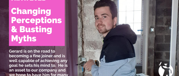 Meet Gerard: Apprentice Joiner with McWilliams Joinery